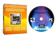Manuali Servizio CORGI Gas Caldaia Riscaldamento & IDRAULICO DVD DISCO GOR PC