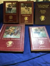 Lot  Of North American Hunting Club Hunter's Information Series Books NAHC