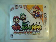 Mario & Luigi Paper Jam Nintendo 3DS (Japanese Version) Ship Free