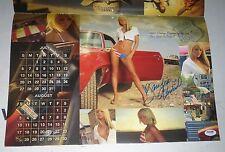 Sara Jean Underwood Signed 2008 Playboy Matco Tools Calendar PSA/DNA COA Auto'd