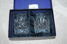 Stuart Crystal York Cut Glass Tumblers, Clear, Boxed Set of 2