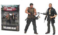 AMC Walking Dead Daryl & Merle Dixon Brothers 2PACK McFarlane Toys Norman Reedus