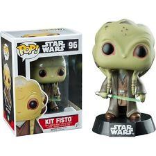 STAR WARS KIT FISTO Pop! Vinyl 96 Bobble Head Figure Funko Bobblehead New Jedi