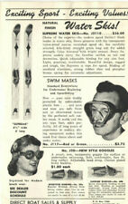 VINTAGE 1950s MARINE HARDWARE CATALOG/FLIER! CONTROLS/LIGHTS/SHACKLES/WATER SKIS