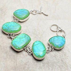 Triplet Opal Ethnic Handmade Bracelet Jewelry 39 Gms AB 29709