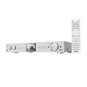 Hama DIT2100MSBT FM/DAB+/Internetradio HiFi-Hybridtuner Spotify Bluetooth Silber