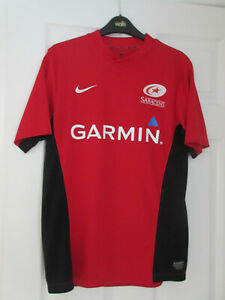 SARACENS Garmin Rugby Union Shirt by NIKE - Small (S) ADULT