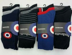 Lambretta Exclusive Collection Socks  Pack Of 3 Men's  Size 6 -11 BN