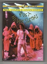 DVD ★ NEIL YOUNG & CRAZY HORSE - RUST NEVER SLEEPS (MISIQUE - CONCERT) ★