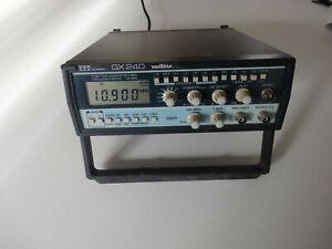 Générateur de basse fréquence ITT GX240 Métrix et Générateur de fonction