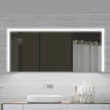 Aluminium LED Kalt Warm weiß licht Wand Badezimmer spiegel schrank 1600 x 700 mm