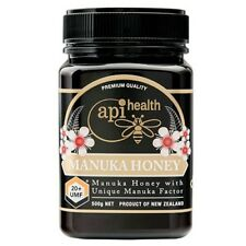 Manuka Honey: UMF 20+ - 500 Grams(1.1 lb) By API Health [FREE SHIPPING]