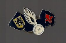 Pin's police / Gendarmerie - groupement de Lille