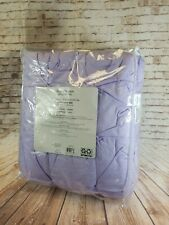 2 Piece Twin Comforter Set PIntuk Block Liliac **FREE SHIPPING**