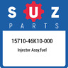15710-46K10-000 Suzuki Injector assy,fuel 1571046K10000, New Genuine OEM Part