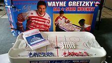 Wayne Gretzky NHL ALL STAR Table Rod Hockey Game CIB with Box