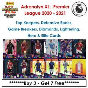 Adrenalyn XL - Premier League 2020 - 21: Elite, Lightning, Diamond, Keepers, Etc