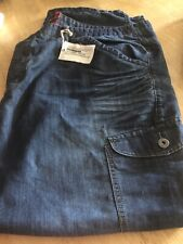 "Jacamo Plus Size Mens Jeans With Pocket Detail 54""x33"""
