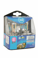 Pack of 2 x H4 Xenon Headlight Bulbs Head Lamps Set Bright Mega White 12V 60/55W