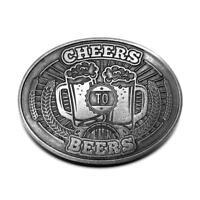 Cheers To Beers Beverage Beer Can Bottle Holder Belt Buckle Buckles