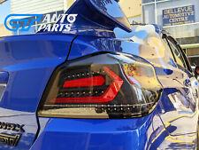 V5 Black Red Bar Full LED Tail lights for 2015-2020 Subaru WRX/ WRX STI VA