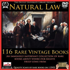 Natural Law Deism Enlightenment Nature Law Common Law Occult Books on DVD .
