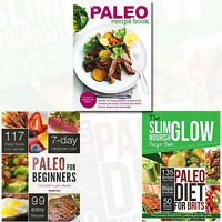 The Paleo Diet Collection (The Paleo Diet for Brits,For Beginners) 3 Books Set