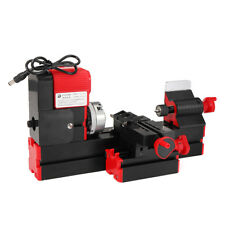 12V/220V 3A 36W Mini Lathe Milling Machine Bench Drill Wood Engraving Power
