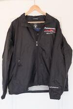Panasonic Toyota Racing Weatherproof Performance large black jacket windbreaker