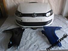 VW POLO 6 6R 10-15 Frontpaket Komplett Front Kotflügel Stoßstange Stoßfänger