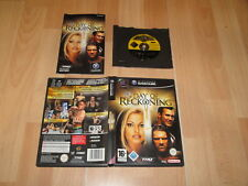 WW DAY OF RECKONING BY THQ FOR NINTENDO GAME CUBE COMPLETE FRENCH-GERMAN VERSION