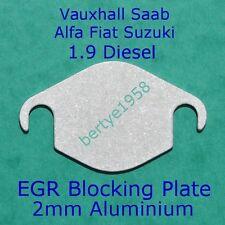 EGR 1.9 2.4 Vauxhall Opel CDTI Fiat Saab Holden Alfa Suzuki Blanking plate SL