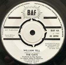 THE CATS - WILLIAM TELL - 1969 BAF 4 45 superb