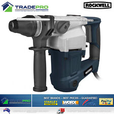 Rotary Hammer 3in1 Rockwell 1000w Electric Drill Concrete Demolition Jack Kit