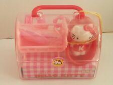 Vintage Sanrio Hello Kitty Cute mini baby Hello Kitty Play Set New old stock