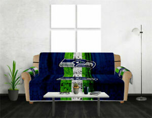 Seattle Seahawks Sofa Covers Chair Couch Covers Elastic Slipcover Protector