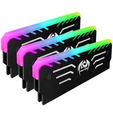 Computer Arbeitspeicher RGB Kühlkörper RAM Speicher Kühlung PC LED