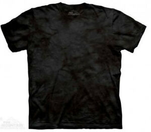 Mountain Adult T-shirt Tie Dye Black