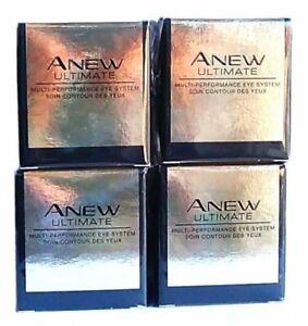 4 x AVON Anew Ultimate Multi-Performance Eye System 15ml - 0.5oz SET