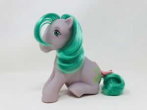 My Little Pony G1 Vintage MLP Sitting ~ Seashell ~ Cute!