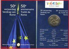 BELGIE - MINIBLISTER 2 € COMM. 2007 BU - VERDRAG VAN ROME