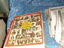 Vintage Box No. 3 Cowboy & Cowgirls Western Movie Pictures About  90 5 x 7