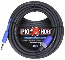 """Pig Hog 50ft Speaker Cable Speakon to 1/4"""""""
