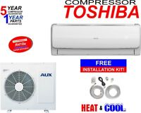 12000 BTU Ductless AC Air Conditioner, Heat Pump Mini Split 110V  1 Ton With/KIT