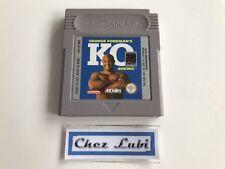 George Foreman's KO Boxing - Nintendo Game Boy - PAL FAH