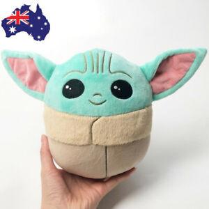 "20CM/8"" mallows Plush Stuffed Toy Baby Yoda The Child Pillow Gift"