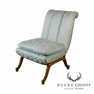 Slipper Chair Antique Chairs For Sale Ebay