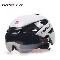 Costelo cycling Helmet MTB Road Bike VH-IKON Bicycle Helmet Goggles 1 or 3 lens