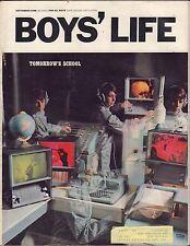 Boy's Life September 1968 Tomorrow's School w/ML 011617DBE