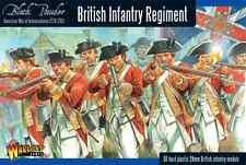 Awi regimiento de infantería británico Warlord Games polvo negro Sd